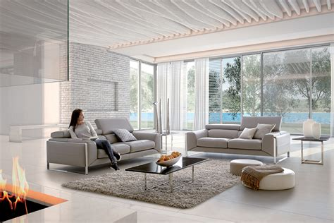 canapé cuir home salon nuage canapé cuir tétières relevables et pieds métal