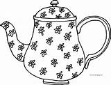 Teapot Coloring Flower Printable Sheet Sheets Tea Rudolph Airplane Mandala Pokemon sketch template