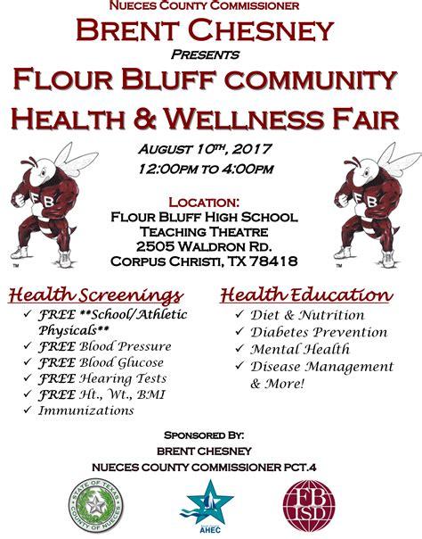 flour bluff intermediate community wide health fair held