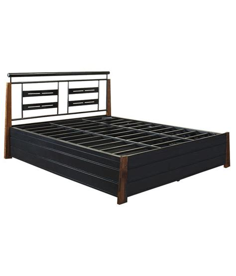 bed with price furniturekraft bed with storage in black buy