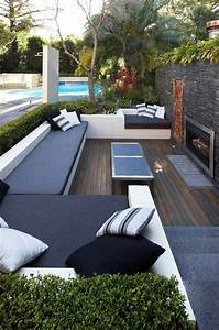 23 simply impressive sunken sitting areas for a With idee deco exterieur jardin 13 decoration bureau moderne