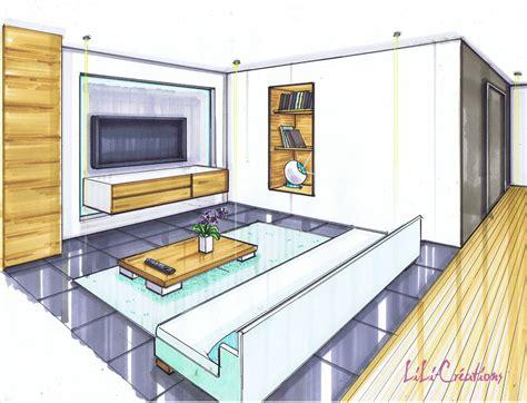 canapé pour petit espace salon moderne ardoise et bois le de elise fossoux