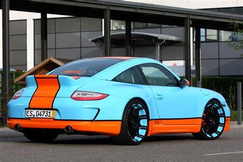 porsche racing colors oxigin 39 s gulf racing style porsche 911