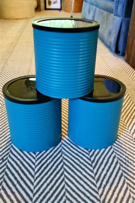 hometalk upcycling coffee cans  organization containers