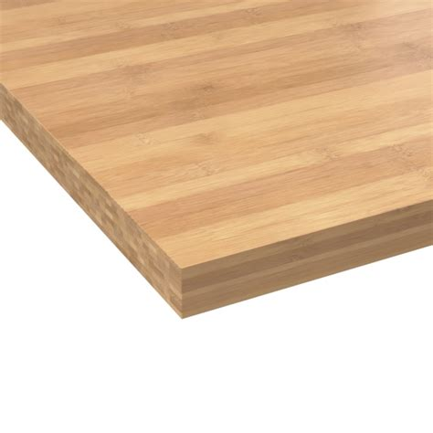 plan de travail cuisine bambou plan de travail n 603 bois massif bambou l200xl65xe3 8