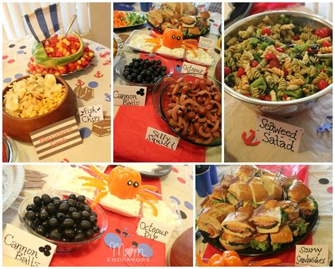 cuisine pirate pirate birthday treats jake and the never land birthday food 2nd