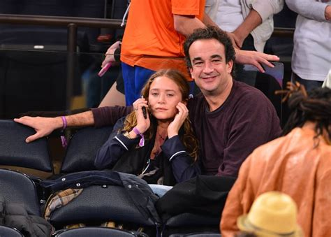 Mary-Kate Olsen and Olivier Sarkozy attended a game ...