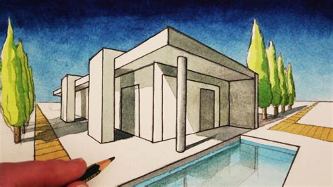 painting homes interior how to draw in 2 point perspective a modern house