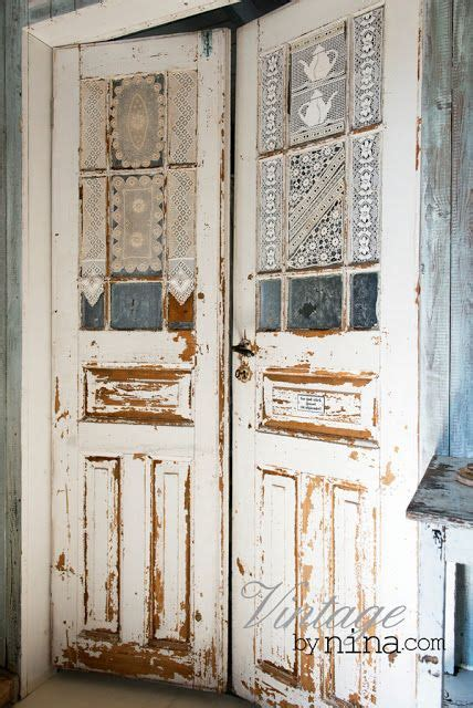 shabby chic doors vintage interior nina 180 s stuff love for laundry craft room