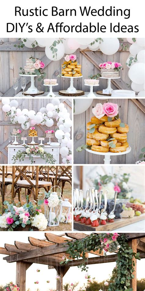 rustic barn wedding ideas tons of great diy s and