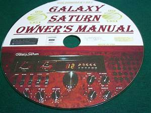 Galaxy Saturn Owner U0026 39 S Manual On Cd