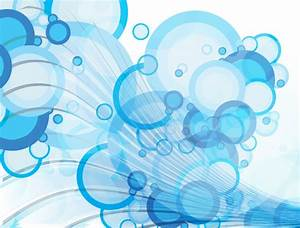 Blue Bubble Vector Background | 123Freevectors