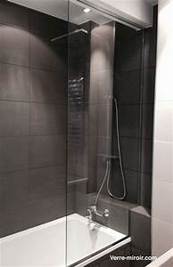 Miroir Sur Mesure Castorama : pare baignoire miroir maison design ~ Dailycaller-alerts.com Idées de Décoration