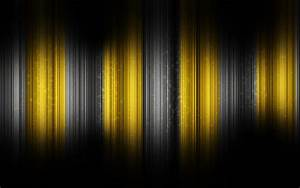 Abstract Yellow And Black Latest HD Wallpaper