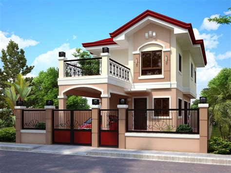 design story 50 images of modern two story house design bahay ofw Home