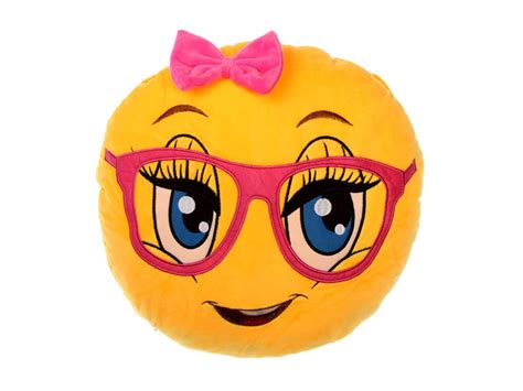 Cute Girl Emoji Pillow