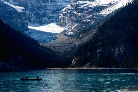 lake louise  hd desktop wallpaper   ultra hd tv