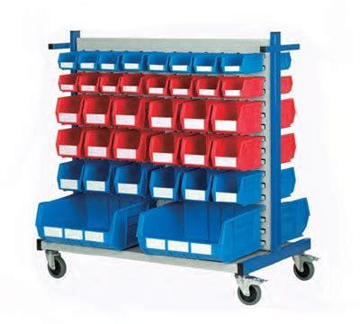 louvre panel trolley kits richardsons shelving racking