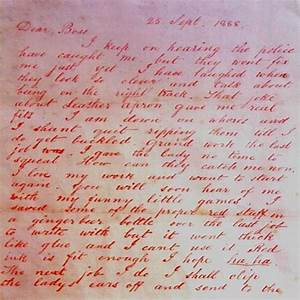 Image Gallery jack the ripper letters