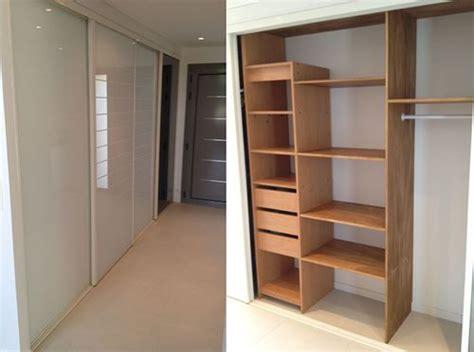 amenagement interieur de placard de cuisine aménagement rangements placards et portes dressings