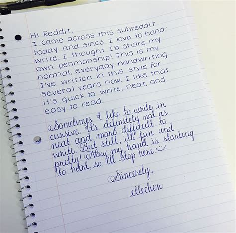37 Perfect Handwriting Examples That Will Give You An Eyegasm  Bored Panda