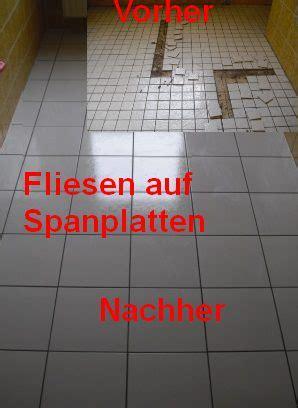Auf Fliesen by Bodenfliesen Auf Holzuntergr 252 Nden Fliesen Fieber