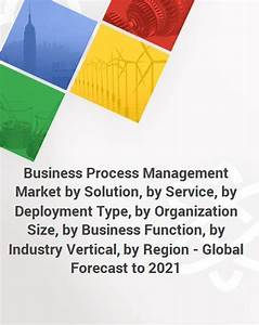Business Process Management Market By Solution  By Service  By Deployment Type  By Organization