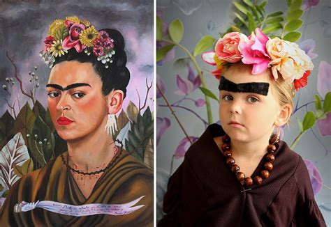 mum recreates famous paintings   children