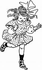 Hopping Clipart Hop Child Clip Children Medium Cliparts Etc Jumping Usf Edu sketch template