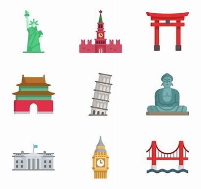 Monuments Landmarks Packs Icons Icon