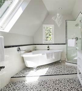Dusche Fliesen Ideen : fliesen badezimmer ideen mediterran badewanne schwarz weiss dachgeschoss schraege dusche ~ Sanjose-hotels-ca.com Haus und Dekorationen