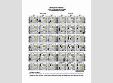 9+ Sample Fiscal Calendars Sample Templates