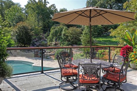luxury deck and patio contemporary patio st louis
