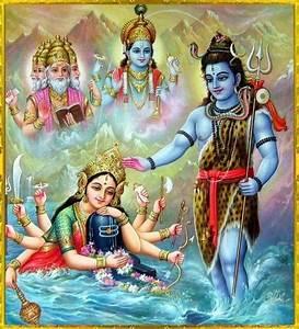 Trimurti-Brahma Vishnu Shiva | DIVINE HINDU DEITIES ☀️ ...