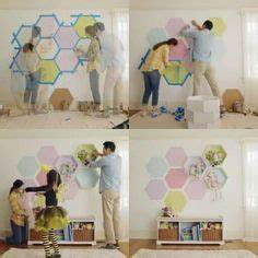 1000 ideas about honeycomb shelves on pinterest shelves for Kitchen cabinets lowes with kids vinyl wall art