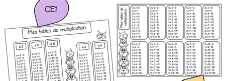 tables de multiplications ce1 42 best maths images on maths workshop and math centers