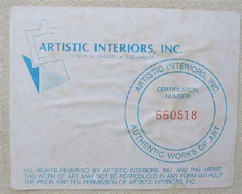 artistic interiors inc certification number concept click picture to enlarge