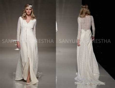Long Sleeve Wedding Dresses Are Back