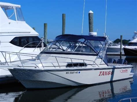 Boats For Sale Osterville Ma by Used 1988 Boston Whaler 27 Fc Cabin Osterville Cape