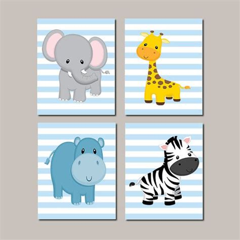 Wandbilder Kinderzimmer Junge by Baby Boy Nursery Jungle Animals Nursery By