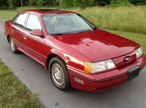 Purchase Used 1989 Ford Taurus Sho No Reserve In Hollywood