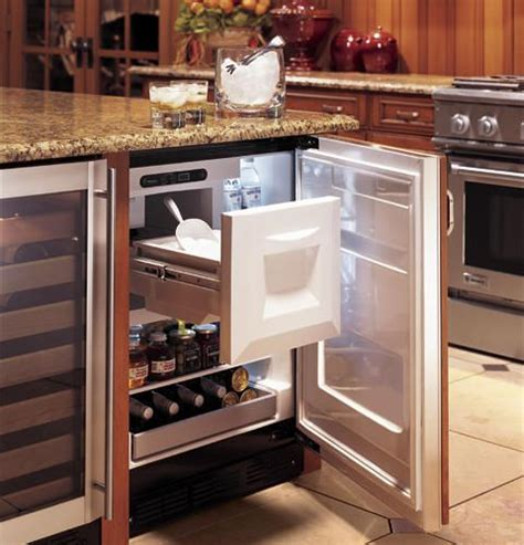 ge monogram bar refrigerator  ice maker ebay kitchen design kitchen remodel bar refrigerator