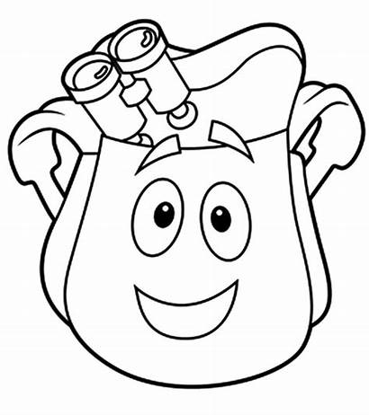 Coloring Pages Diego Cartoon Printable Momjunction