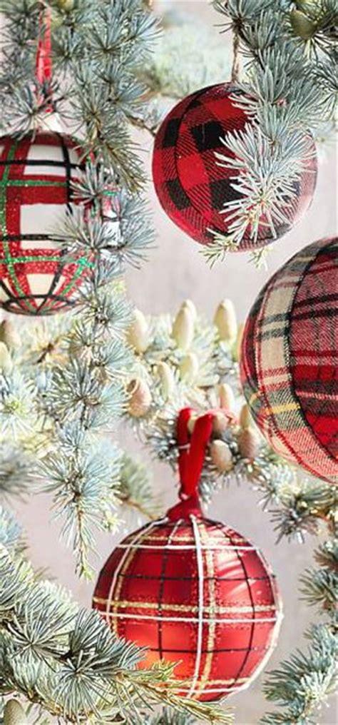 ideas  tartan christmas  pinterest
