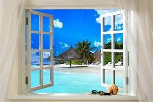tableau peinture fenetre With maison de la fenetre 0 maison contemporaine dompierre sur mer
