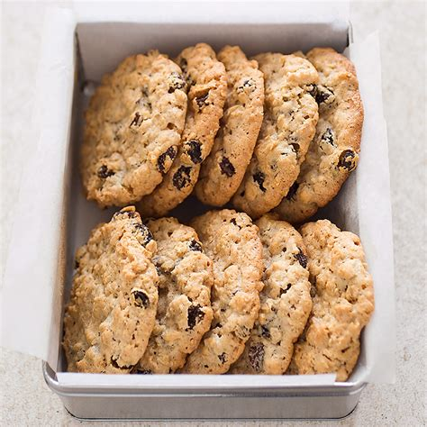 oatmeal raisin cookies chewy oatmeal raisin cookies recipe dishmaps