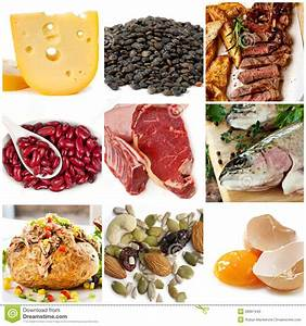 Food Sources Of Protein Stock Image  Image Of Diet