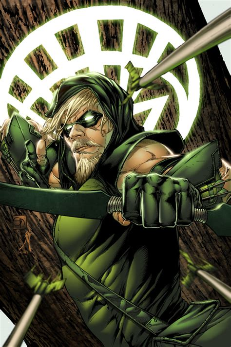 Comics Forever, Green Arrow  Pencils By Shane Davis