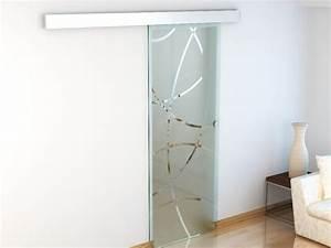 porte coulissante en applique heidi h205 x l83 cm With porte de garage enroulable avec porte en verre coulissante