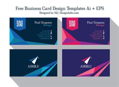 professional premium vector business card design